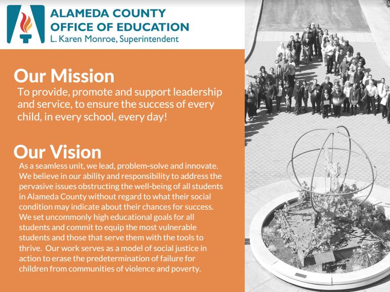 mission vision values alameda