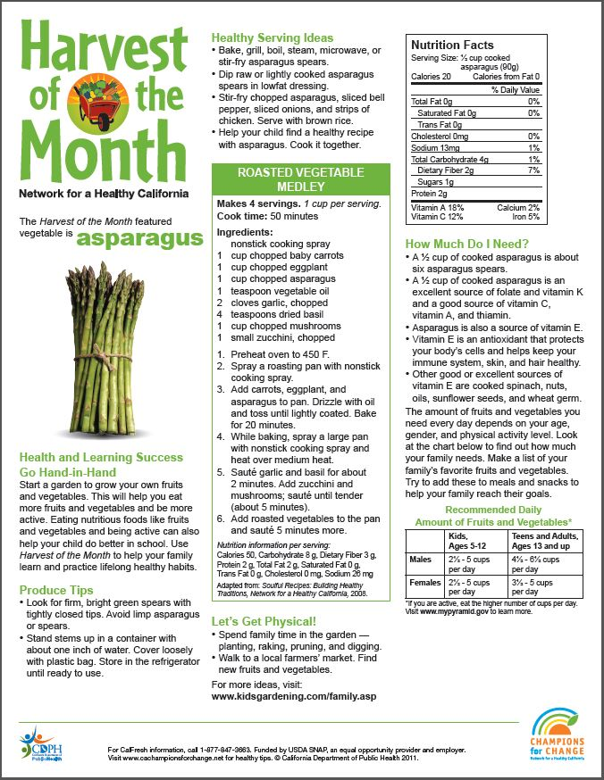 Harvest of the Month: Asparagus