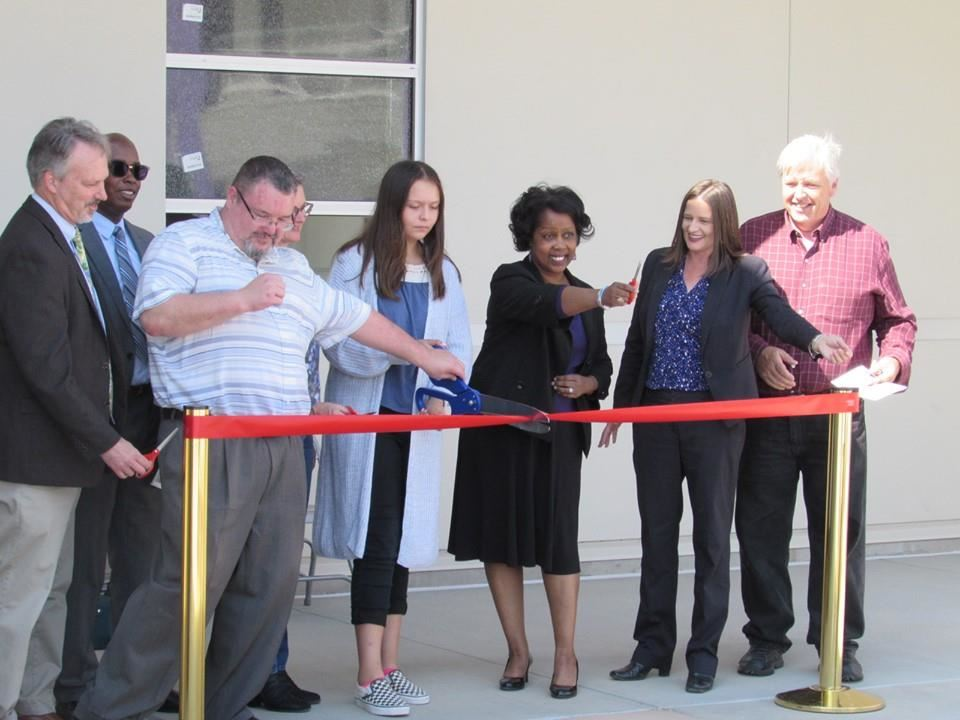 Walters High School ribbon cutting