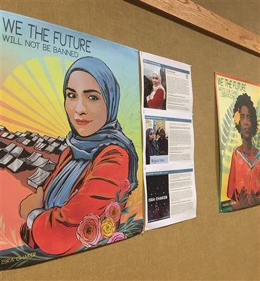 Equity Spotlight: Art Installation Promoting Youth-Led Movements