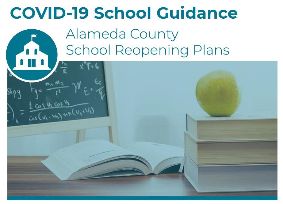 COVID-19 school guidance, alameda county school reopening plans