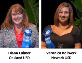 Diana Culmer and Veronica Bollwerk
