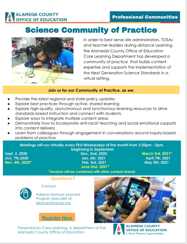 Science Community of Practice