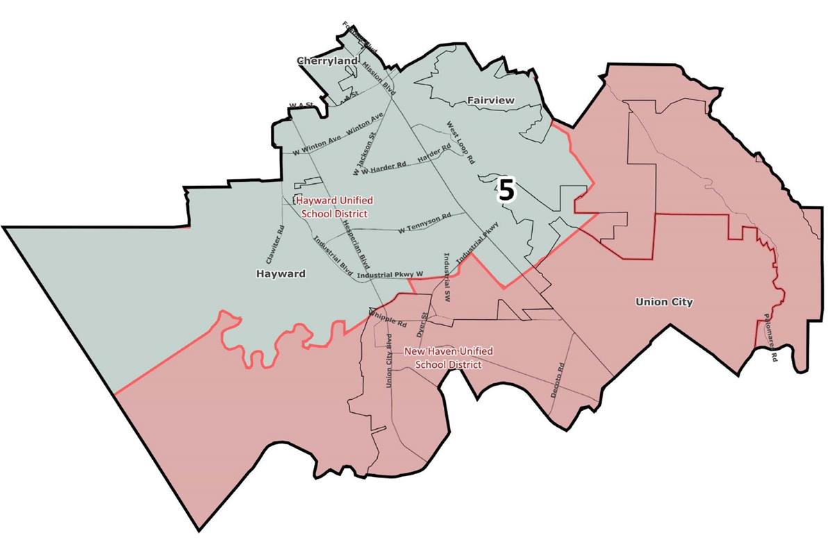 Board of Education / Trustee Area Map