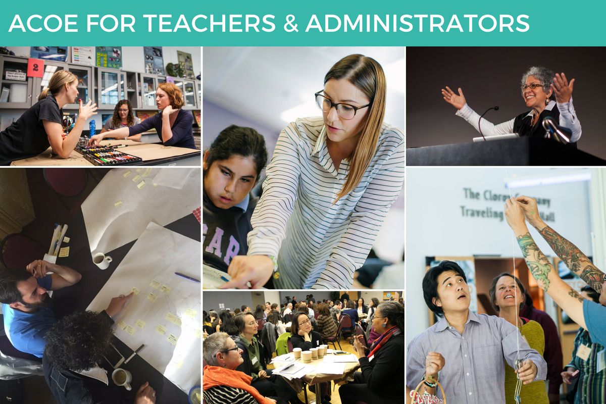 ACOE for Teachers and Administrators